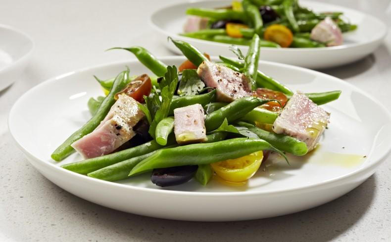 Chargrilled Tuna & Bean Salad