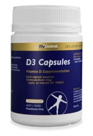 Bioceuticals-D3-Capsules