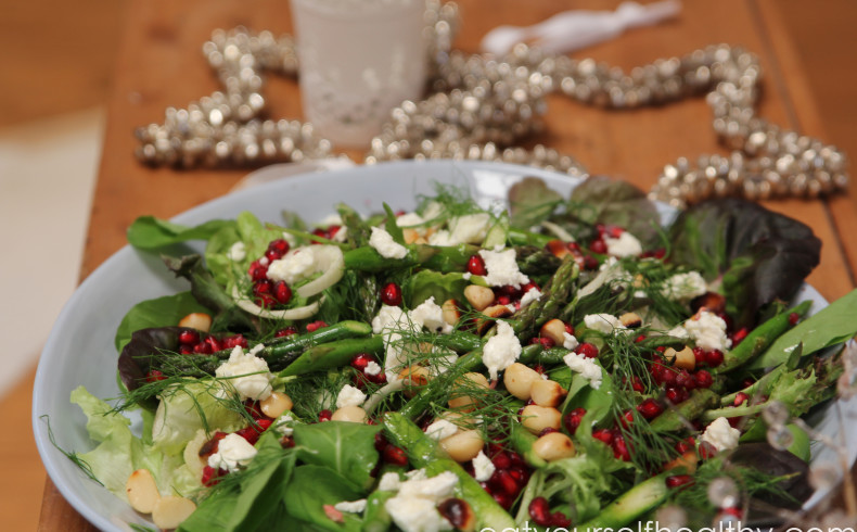 Christmas Pomegranate Salad