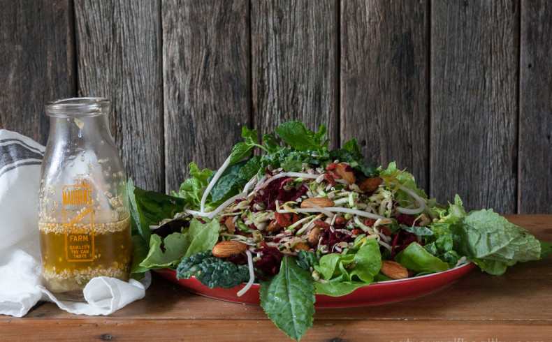 EYH MEMBER RECIPE: Sally's Superfood Salad