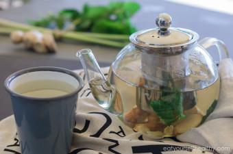 Lemon Grass Ginger Mint Tea