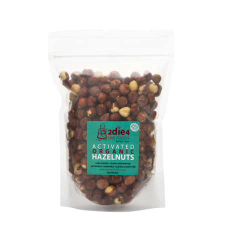 Activated Organic Hazelnuts