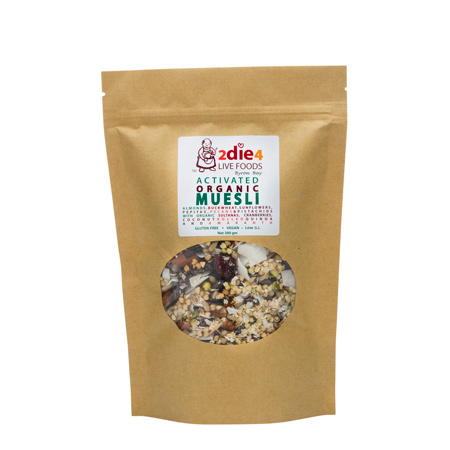 Activated Organic Muesli Vegan