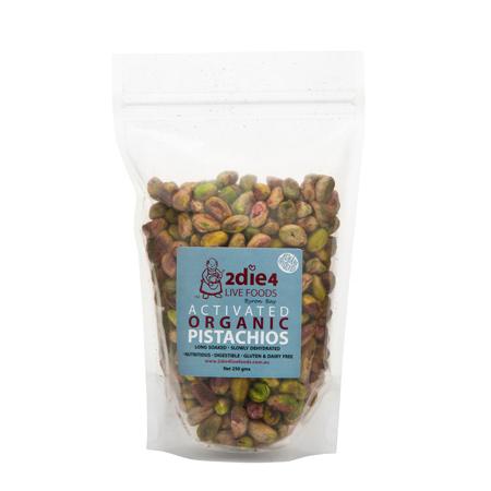 Activated Organic Pistachios