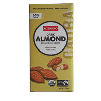 Chocolate Organic - Dark Almond 60%