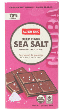 Chocolate Organic - Dark Sea Salt 70%