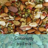 Coconutty trail mix