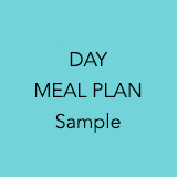 Day meal plan sample