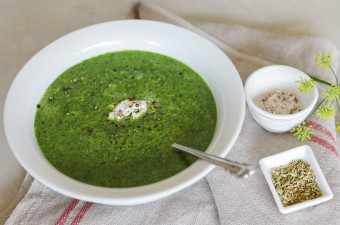 Fennel and Spinach Soup