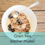 Grain free bircher muesli