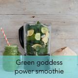 Green goddess power smoothie