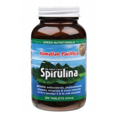 Hawaiian Pacifica Spirulina Tablets