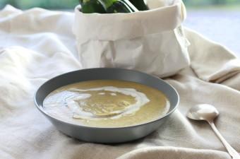 Creamy Coconut Zucchini Soup