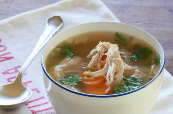 Organic Chicken Spring Vegetable Soup