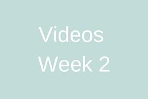 Videos - Week 2