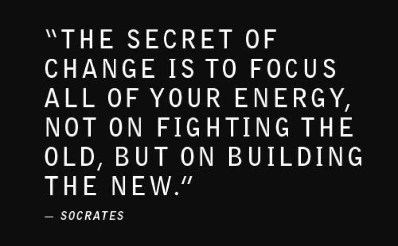 Do You Fear Change...?