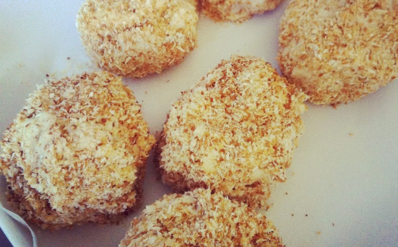 Toasted Coconut Sheep's Balls