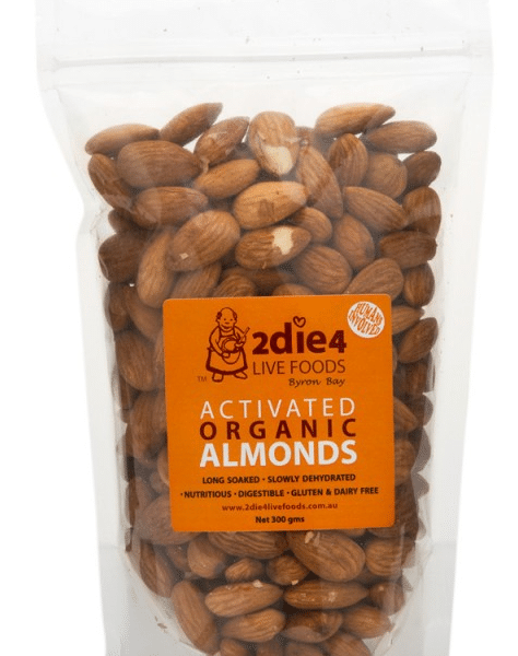Activated Organic Almonds