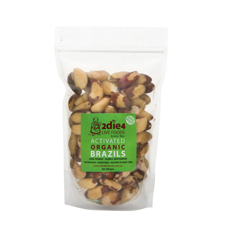 Activated Organic Brazil Nuts