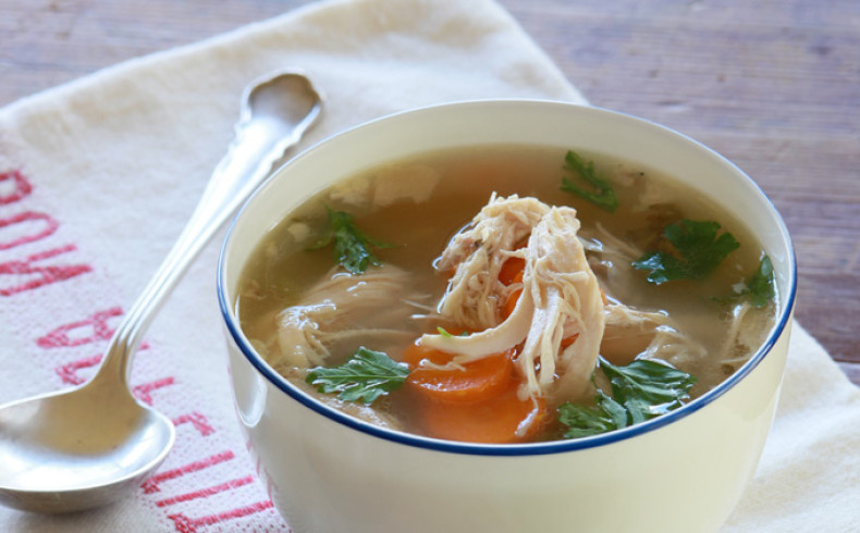 Organic Chicken & Spring Vegetable Soup